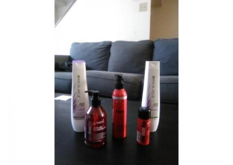 Salon grade hair products