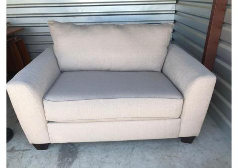 Loveseat pullout sleeper