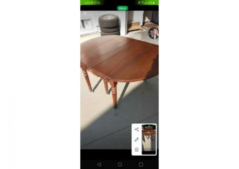 Eastern walnut table