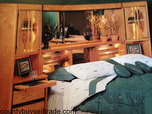 King Size Bedroom Set   Wall Unit, Dresser, Chest Of Drawers In O Fallon,  St. Charles, Missouri