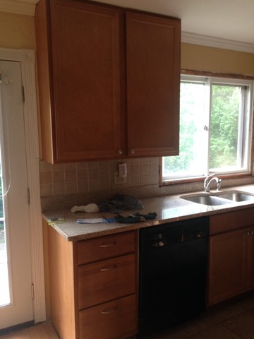 Complete Set Of Kitchen Cabinets Including Granite Countertop In O Fallon St Charles County Missouri St Charles County Buy Sell Trade